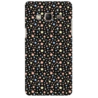 G.store Printed Back Covers for Samsung Z3 Black 45471