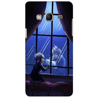 G.store Printed Back Covers for Samsung Z3 Black 45472