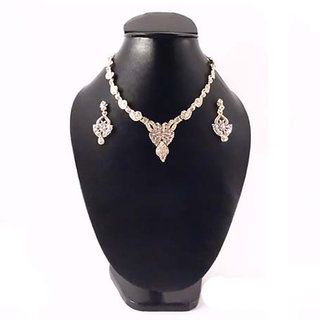 Necklace Golden with Stone 157