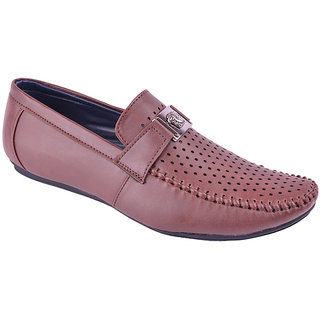 Teameshing Brown Mens Loafer Shoes Ts504