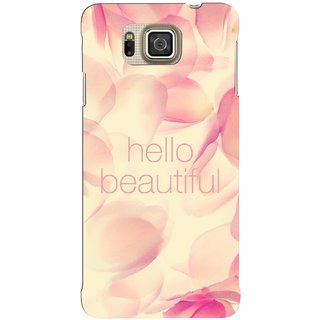G.store Hard Back Case Cover For Samsung Galaxy Alpha 62749