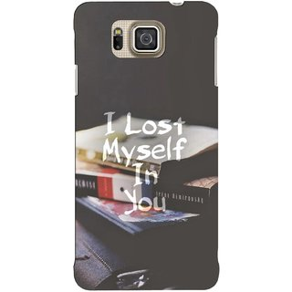 G.store Hard Back Case Cover For Samsung Galaxy Alpha 62758