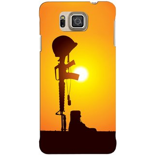 G.store Hard Back Case Cover For Samsung Galaxy Alpha 62766
