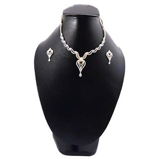 Necklace American Diamond Set 183