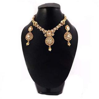 Necklace Gold Platted Antique Set 186