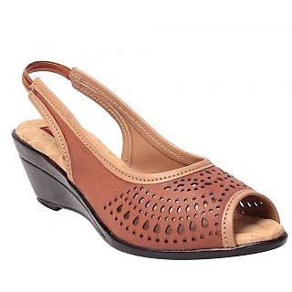 Msc Tan WomenS Heels