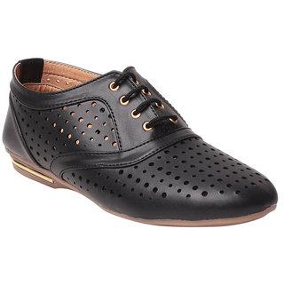 MSC Women's Black Smart Casuals Shoes