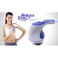 Bbz Imported Portable Relax  Tone Massager For Pain Relief Body Tonning Fat Reduce  Relaxation