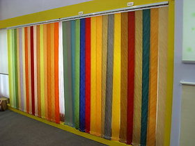 Easy To Install Colored Vertical Blinds