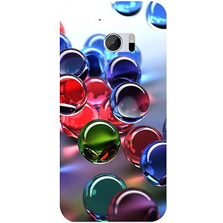Casotec 3D Bubble Design 3D Hard Back Case Cover for HTC One M10 gz8182-13001
