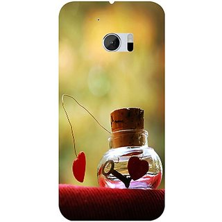 Casotec Love Prison Design 3D Hard Back Case Cover for HTC One M10 gz8182-13041