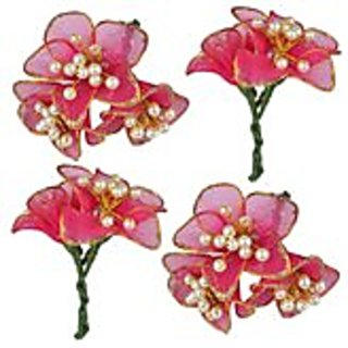 Beautiful Hair accessory Flower(Set Of 4 flowers)