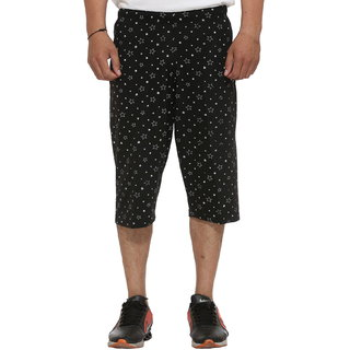 Vimal-Jonney Cotton Blended 3/4th-Capris For Men Pack Of 1