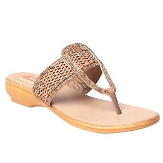 Msc Beige WomenS Flat