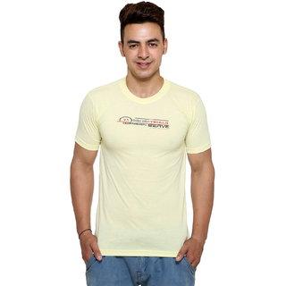 Vimal-Jonney Round Neck Cotton Blend Tshirt For Men