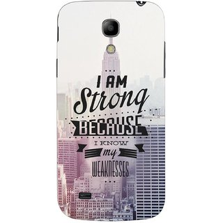 G.store Hard Back Case Cover For Samsung Galaxy S4 Mini 65819