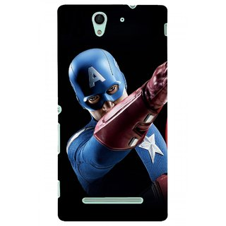 G.store Hard Back Case Cover For Sony Xperia C3 66346
