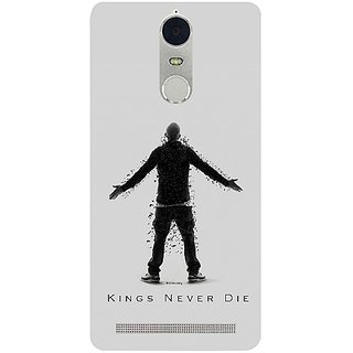 Casotec Eminem Kings Never Die Design 3D Hard Back Case Cover for Lenovo K5 Note gz8180-11425