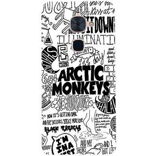 Casotec Arctic Monkeys Pattern Design 3D Hard Back Case Cover for LeTV Le 2 gz8183-12286