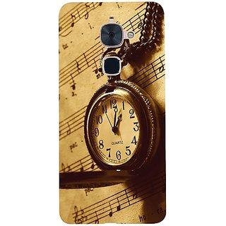 Casotec Pocket Watch Print Design 3D Hard Back Case Cover for LeTV Le 2 gz8183-11013