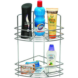 Doyours 9x9x18 Corner Double Basket (stainless Steel)