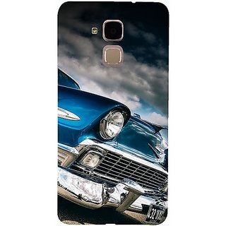 Casotec Vintage Car Pattern Design 3D Hard Back Case Cover for Huawei Honor 5c gz8188-12274