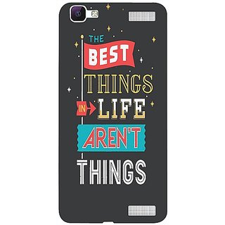 Casotec Motivation Quotes Design 3D Hard Back Case Cover for Vivo V1 Max gz8186-12580
