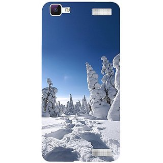 Casotec Winter In Finnland Design 3D Hard Back Case Cover for Vivo V1 Max gz8186-13085