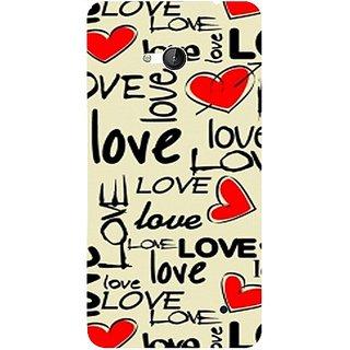 Casotec Love Hearts Design 3D Hard Back Case Cover for Microsoft Lumia 640 gz8190-11012