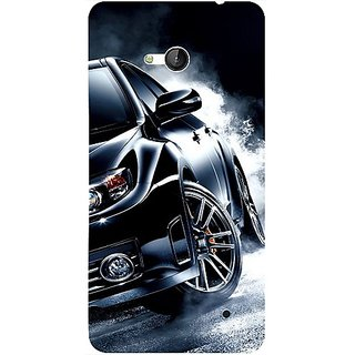 Casotec Speed Design 3D Hard Back Case Cover for Microsoft Lumia 640 gz8190-12469