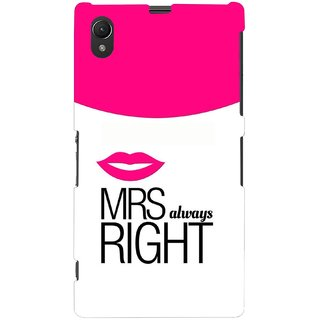 G.store Hard Back Case Cover For Sony Xperia Z1 67528
