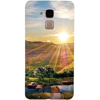 Casotec 3D Landscape Design 3D Hard Back Case Cover for Huawei Honor 5c gz8188-14684