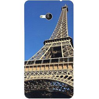 Casotec Eiffel Tower Design 3D Hard Back Case Cover for Microsoft Lumia 640 gz8190-11003