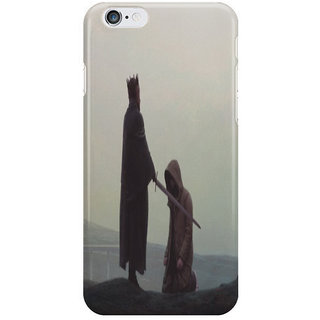 The Fappy Store Queen And The Knight I Phone 6S Back Covers