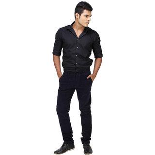 Inspire N.Blue Slim Corduroy Trouser