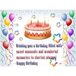 Buy Happy Birthday Wishes Card With Name Online 450 From ShopClues