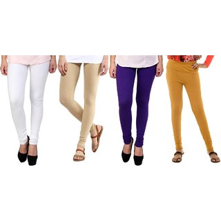 Legement Cotton kids Leggings pack Of 4