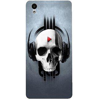 Casotec Rock the Music Pattern Design 3D Hard Back Case Cover for Vivo Y51L gz8192-12097