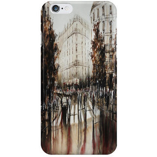 The Fappy Store Paris Painting I Phone 6S Back Covers