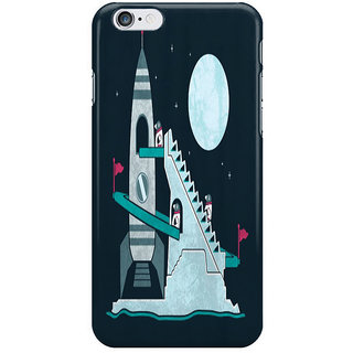 The Fappy Store Penguin Space Race I Phone 6S Back Covers