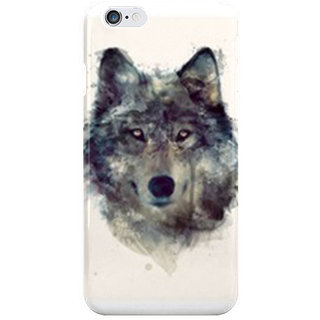 The Fappy Store Persevere Portrait Of A Wolf I Phone 6S Back Covers