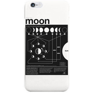 The Fappy Store Phases Of The Moon Infographic I Phone 6S Back Covers