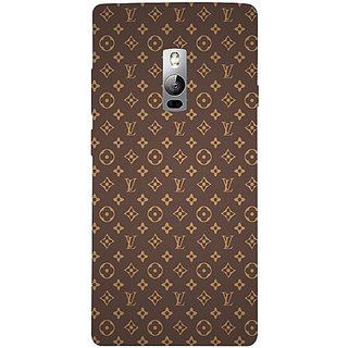 Casotec Vuitton Pattern Design 3D Hard Back Case Cover for Oneplus 2 gz8193-12435