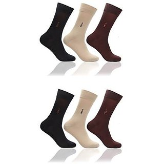 Full Length Socks 6 Pair Pack