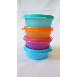 4 small container...for chapati or dal