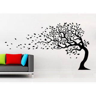 Wallskart  Tree Awesome Artwork Small Black Wall sticker