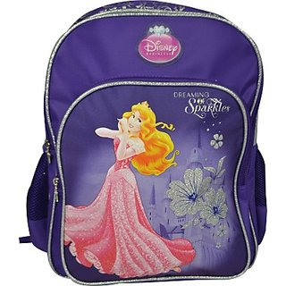 Simba Princess Waterproof Backpack (Purple, 18 Inch) BTS-1068