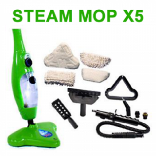 STEAM MOP H20 X5 CLEANING MADE EASY AND EFFICIENT