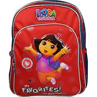 Simba Dora Waterproof Backpack (Red, 18 Inch) BTS-1140