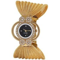 TRUE COLORS GOLD BUTTERFLY STYLE SMART GIRLS CHOICE Analog Watch - For Girls, Women, Couple